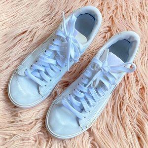 Nike blazer low women white leather sneakers US6